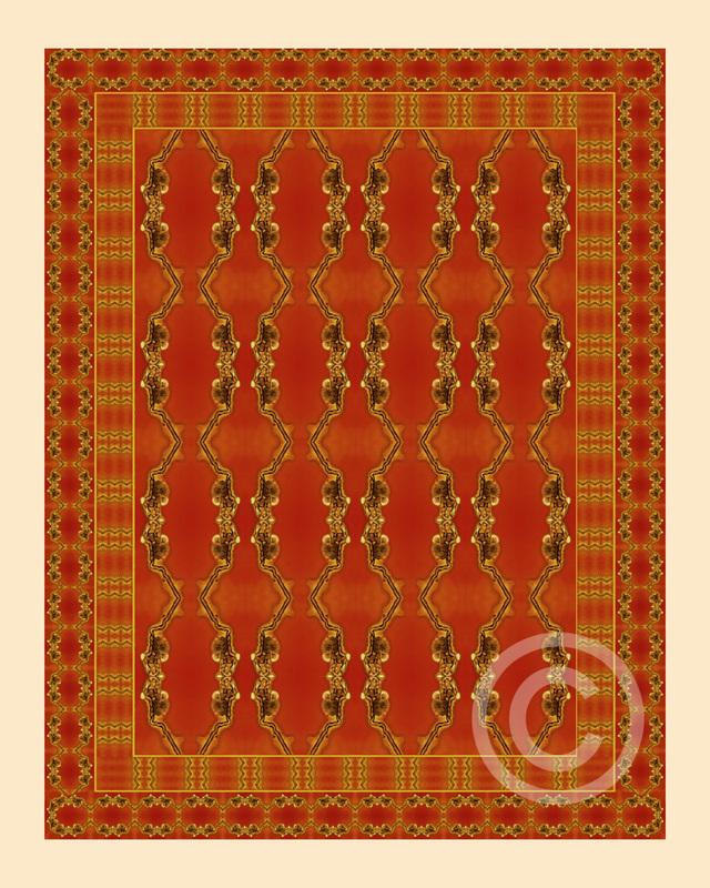 Influenza C tapestry